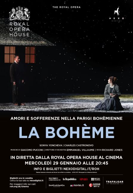 LA BOHE`ME - DAL ROYAL OPERA HOUSE 2019/2020