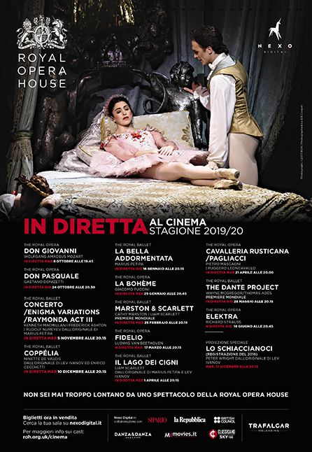 THE DANTE PROJECT - DAL ROYAL OPERA HOUSE 2019/2020